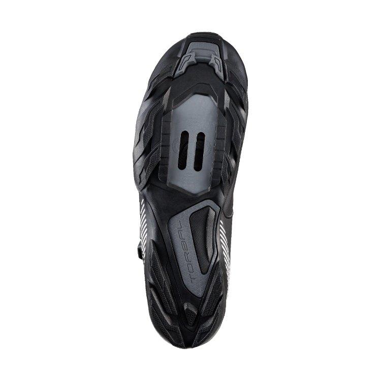 Велотуфли Shimano SH-ME300, черно-белый (Размер: 46)