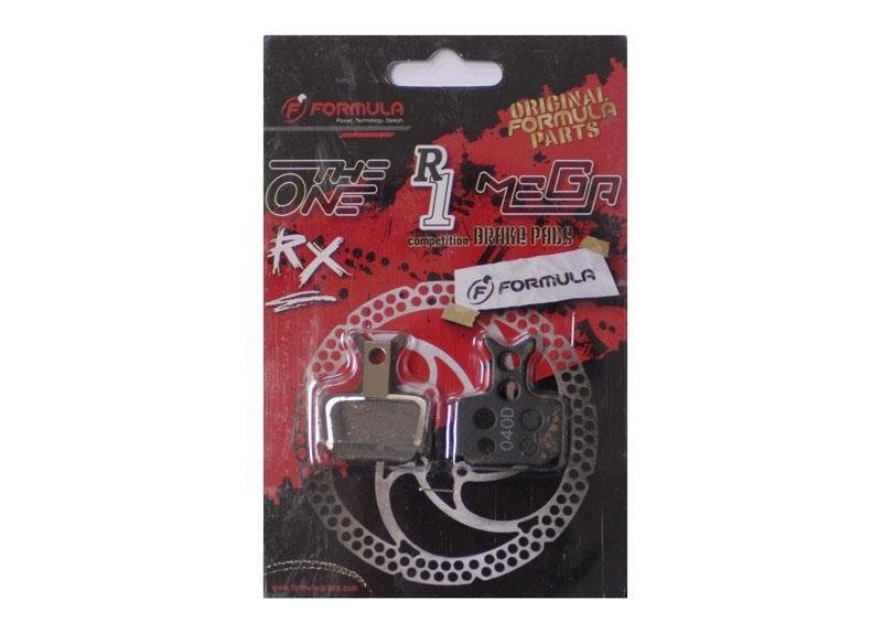 Колодки тормозные Formula Mega-The One-R1-RX Semi-Metal-alu