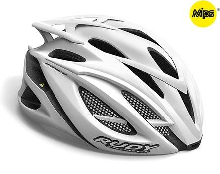 Каска Rudy Project RACEMASTER MIPS WHITE STEALTH L