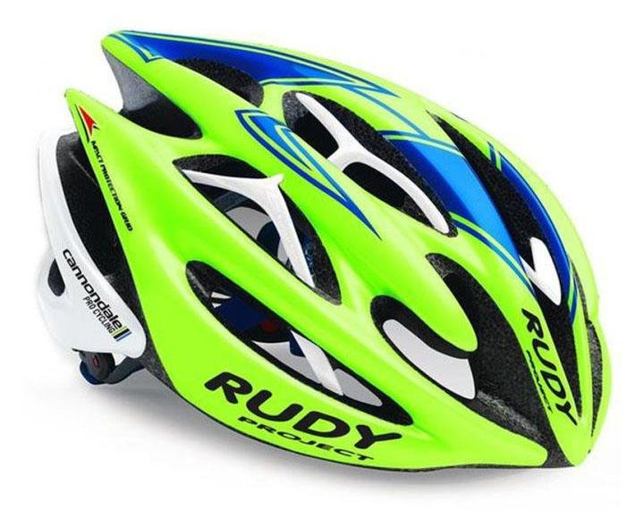 Каска Rudy Project STERLING CANNONDALE LIME/BLUE/WHITE S-M