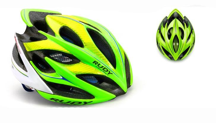 Велошлем Rudy Project WINDMAX CANNONDALE LIME/BLUE/WHITE S-M