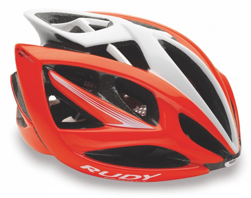 Каска Rudy Project AIRSTORM RED FLUO-WHITE SHINY L