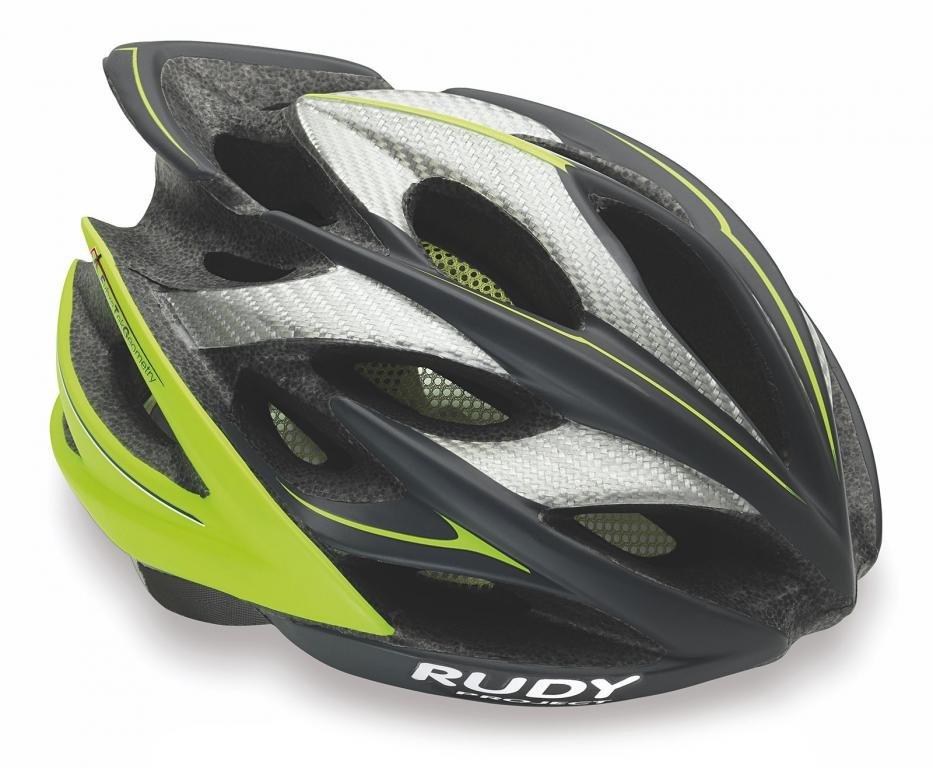 Велошлем Rudy Project WINDMAX GRAPHITE-LIME FLUO MATT S/M