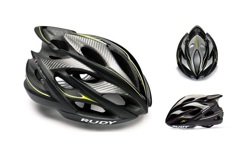 Велошлем Rudy Project WINDMAX BLK/YEL FLU/WHITE MATTE L
