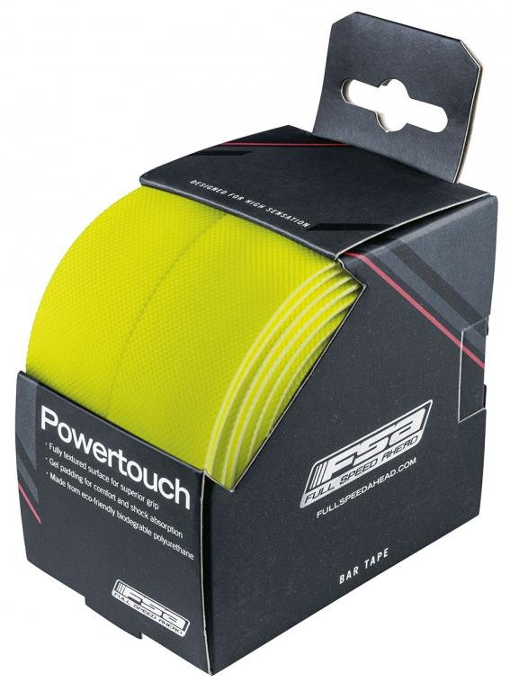 Обмотка на руль FSA PowerTouch желтая.