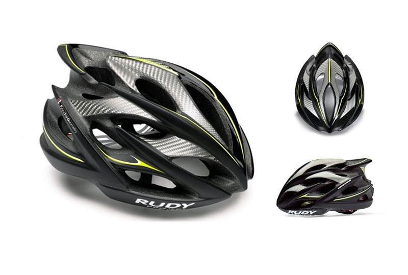 Велошлем Rudy Project WINDMAX BLK/YEL FLU/WHITE MATTE S/M