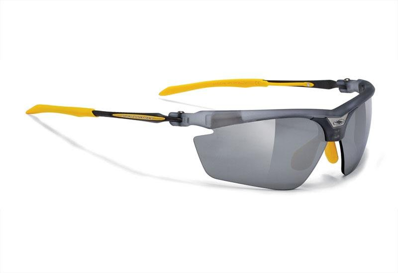 Очки Rudy Project MAGSTER FROZEN ASH - LS BLACK YELLOW RUBBER