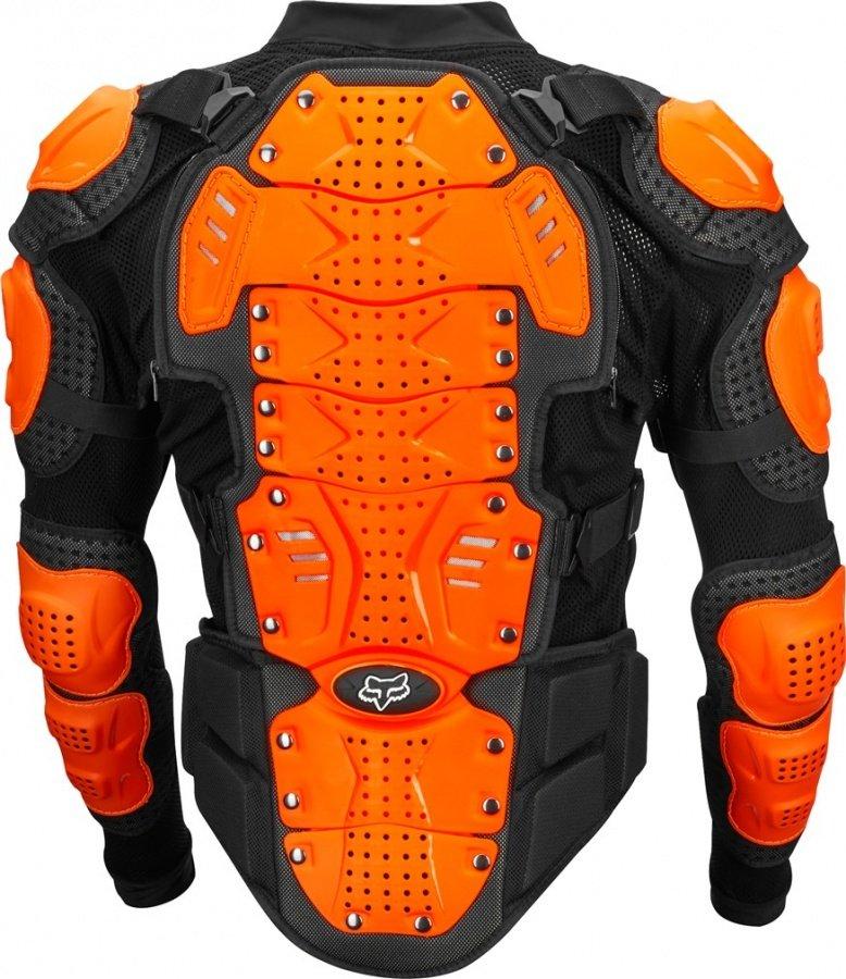Защита панцирь Fox Titan Sport Jacket, черно-оранжевый 2018 (Размер: S )