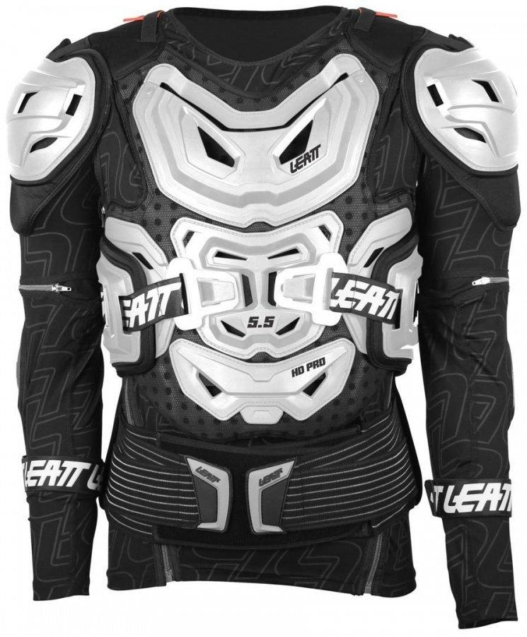Защита панцирь Leatt Body Protector 5.5, белый 2018 (Размер: S/M (160-172))