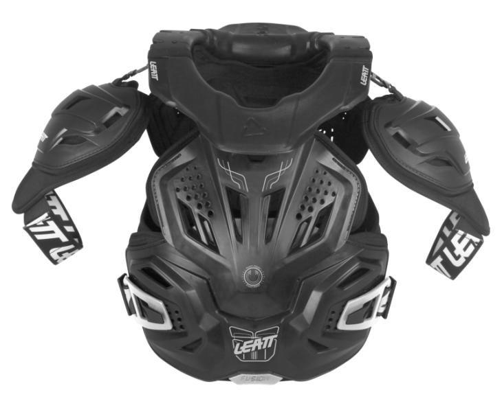 Защита панцирь+ шея Leatt Fusion Vest 3.0, черный 2017 (Размер: S/M (160-172))