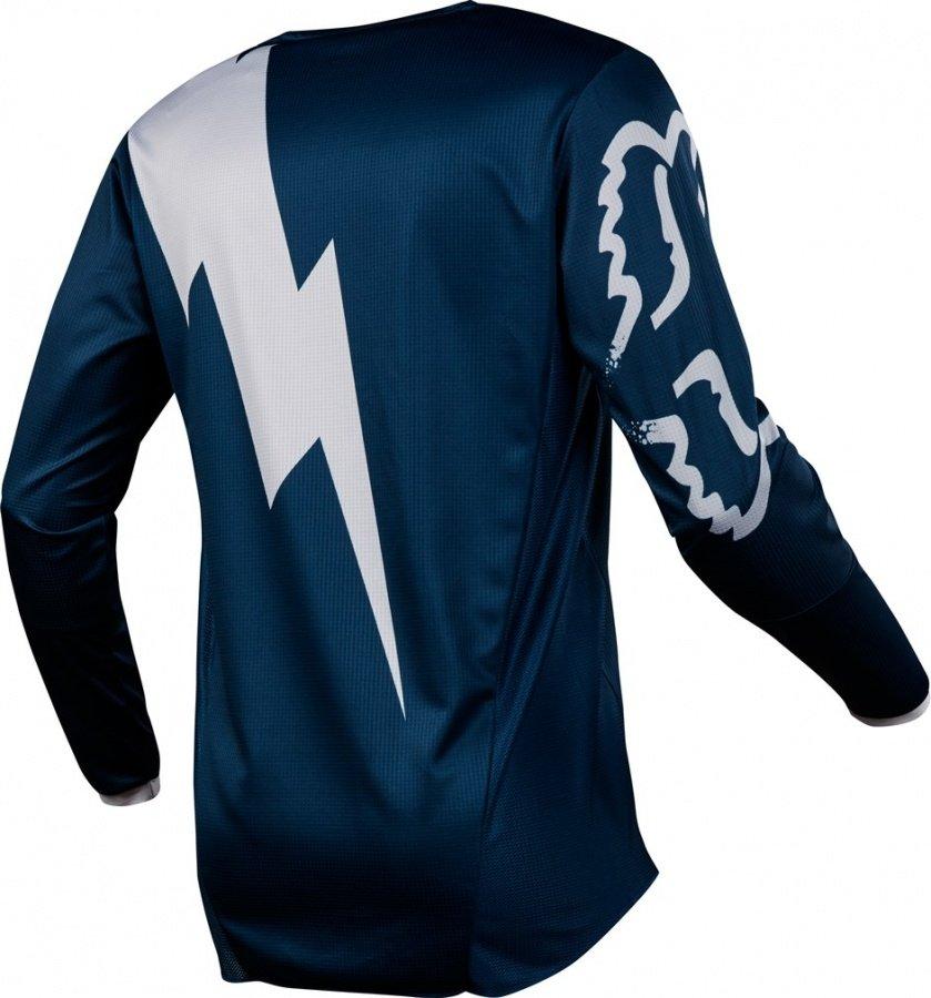 Велоджерси Fox 180 Mastar Jersey, синий 2018 (Размер: L )