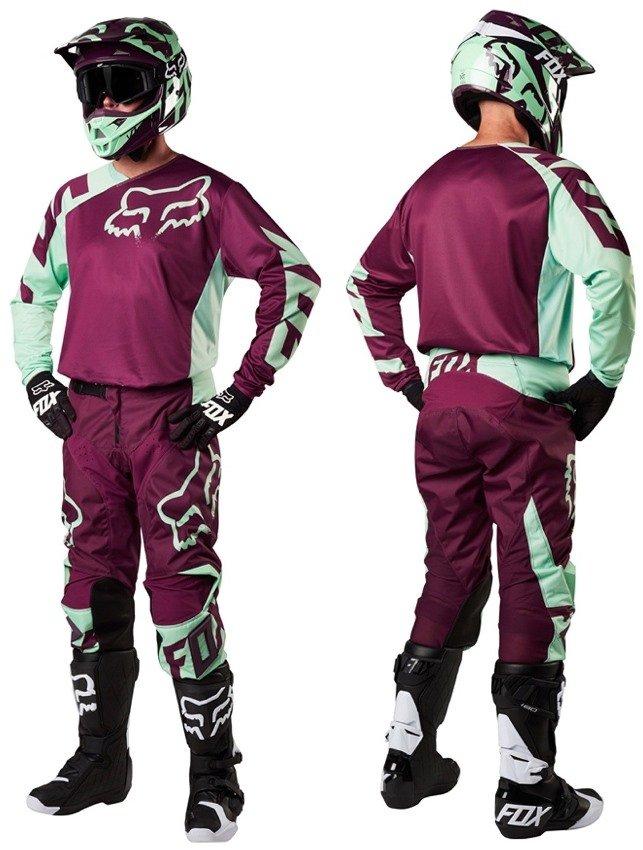 Велоджерси Fox 180 Race Jersey, зеленый 2018 (Размер: XXL )
