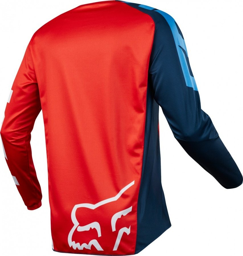 Велоджерси Fox 180 Race Jersey, красный 2018 (Размер: L )