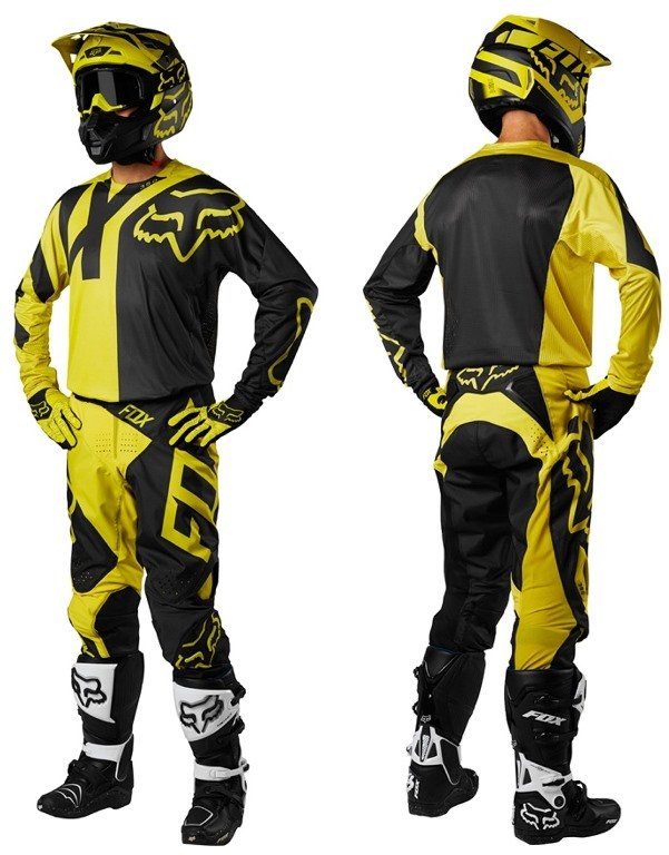 Велоджерси Fox 360 Preme Jersey, темно-желтый 2018 (Размер: L)