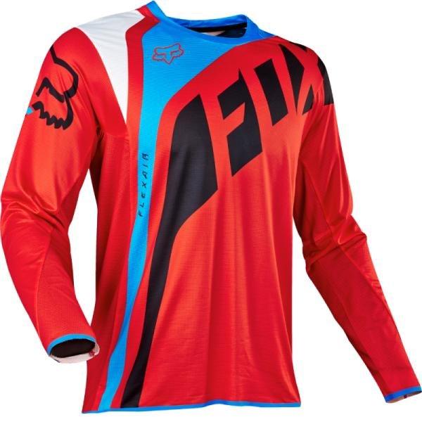 Велоджерси Fox Flexair Seca Jersey, красный 2017 (Размер: L)
