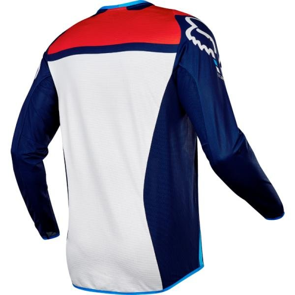 Велоджерси Fox Flexair Seca Jersey, синий 2017 (Размер: XXL)