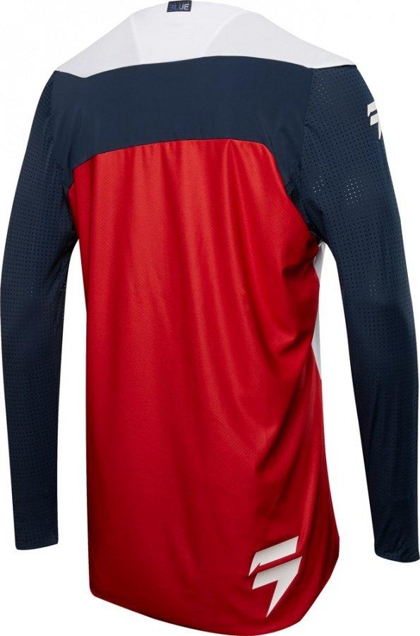 Велоджерси Shift Blue 4th Kind Jersey, сине-красный 2018 (Размер: М)