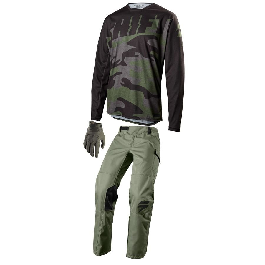 Велоджерси Shift Recon Drift Camo Jersey Fatigue Camo 2018 (Размер: M )