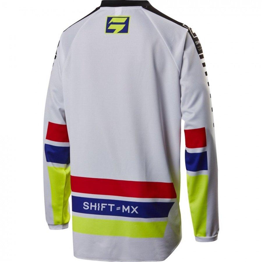 Велоджерси Shift Recon Phoenix Jersey, белый 2017 (Размер: S )