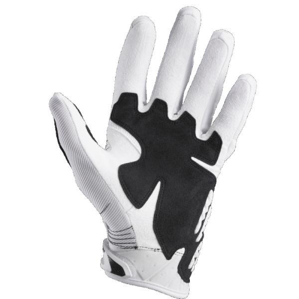 Велоперчатки Fox Bomber Glove, бело-черный 2018 (Размер: XXL)