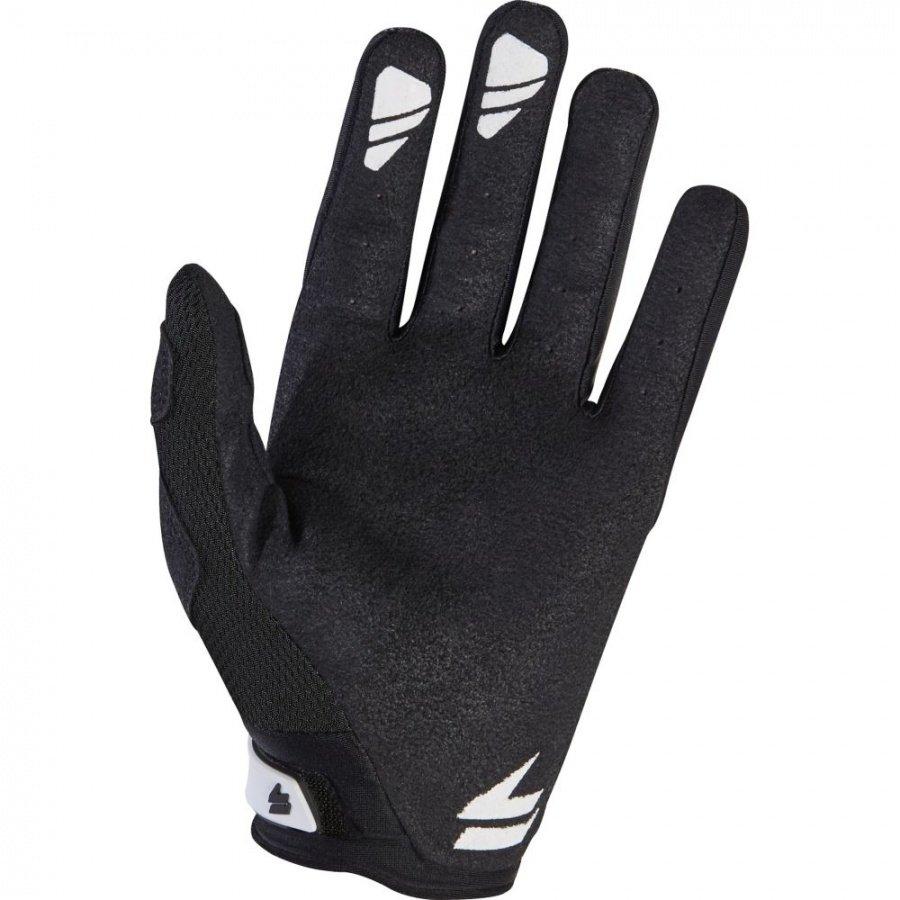Велоперчатки Shift Black Pro Glove, черно-белый 2017 (Размер: M )