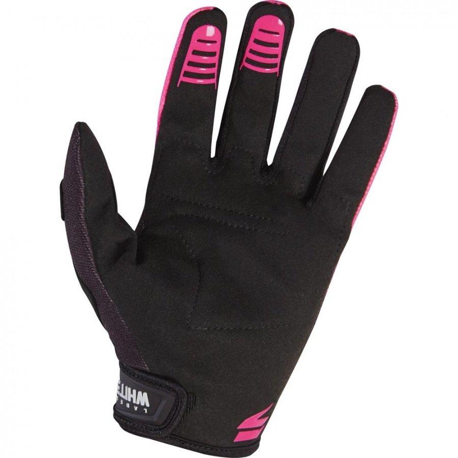 Велоперчатки Shift White Air Glove, черно-розовый 2017 (Размер: M )
