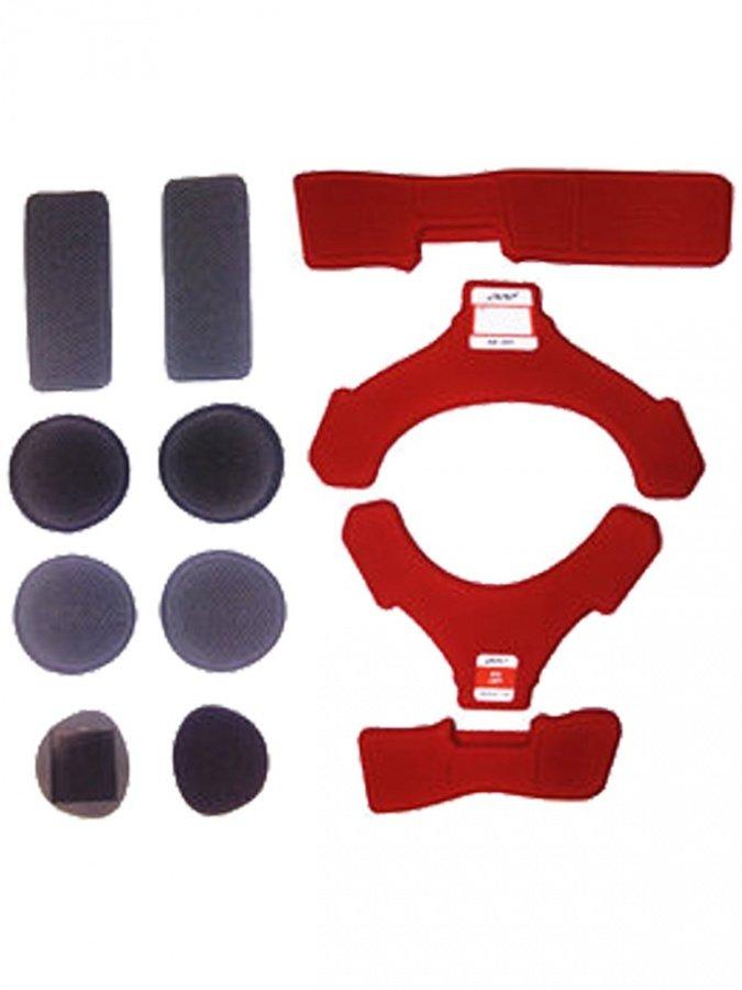 Вставки мягкие левого наколенника POD K4 MX Pad Set Left Red, KP440-066-OS