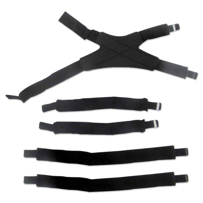Стрепы Leatt C-Frame Carbon Strap Kit Pair 2018 (Размер: L/XL )