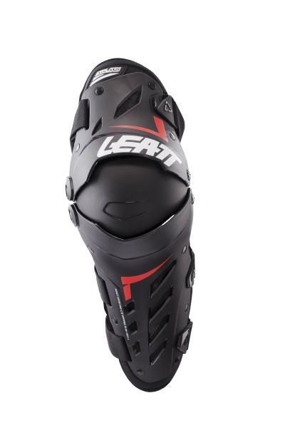 Наколенники Leatt Dual Axis Knee & Shin Guard, XL/XXL, черно-красный, 5017010182