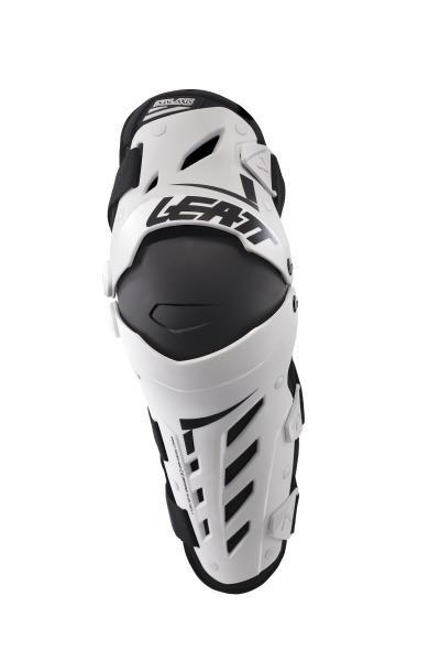 Наколенники Leatt Dual Axis Knee & Shin Guard, XL/XXL, бело-черный, 5017010177