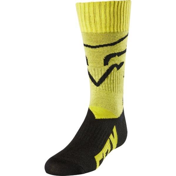 Носки подростковые Fox MX Mastar Youth Sock, желтый 2018 (Размер: L)