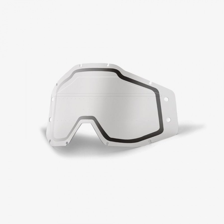 Линза 100% Accuri Forecast Lens Sonic Bumps w/mud Visor Clear, 51121-510-02