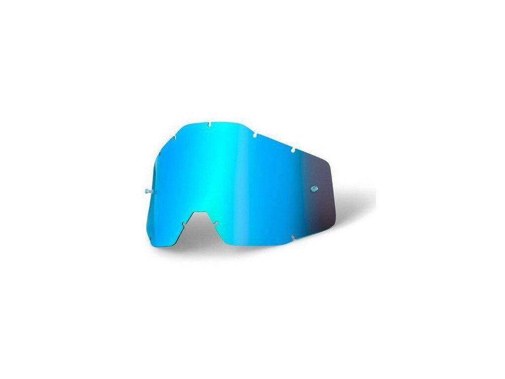 Линза подростковая 100% Accuri/Strata JR Anti-Fog Blue Mirror, 51003-002-02