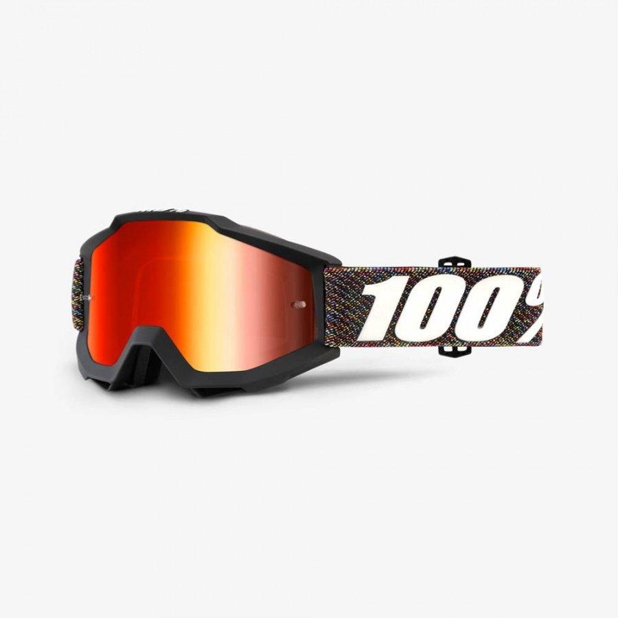 Велоочки 100% Accuri Krick / Mirror Red Lens, 50210-227-02