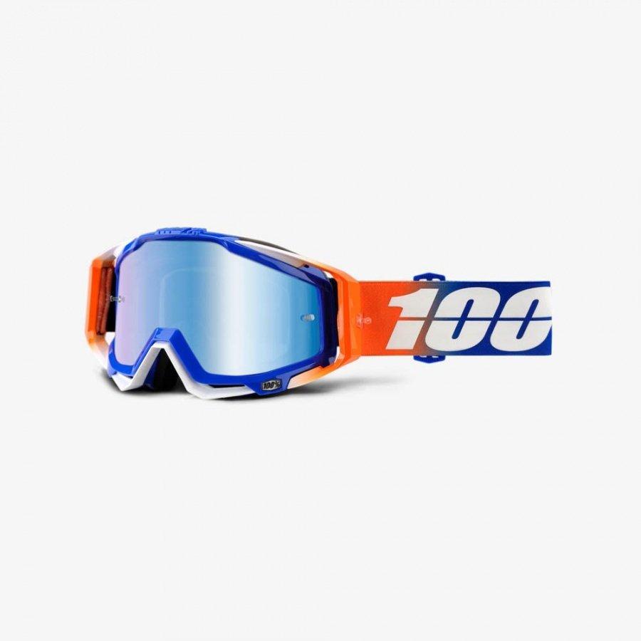 Велоочки 100% Racecraft Roxburry / Mirror Blue Lens, 50110-221-02