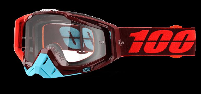 Велоочки 100% Racecraft Kikass / Clear Lens, 50100-208-02