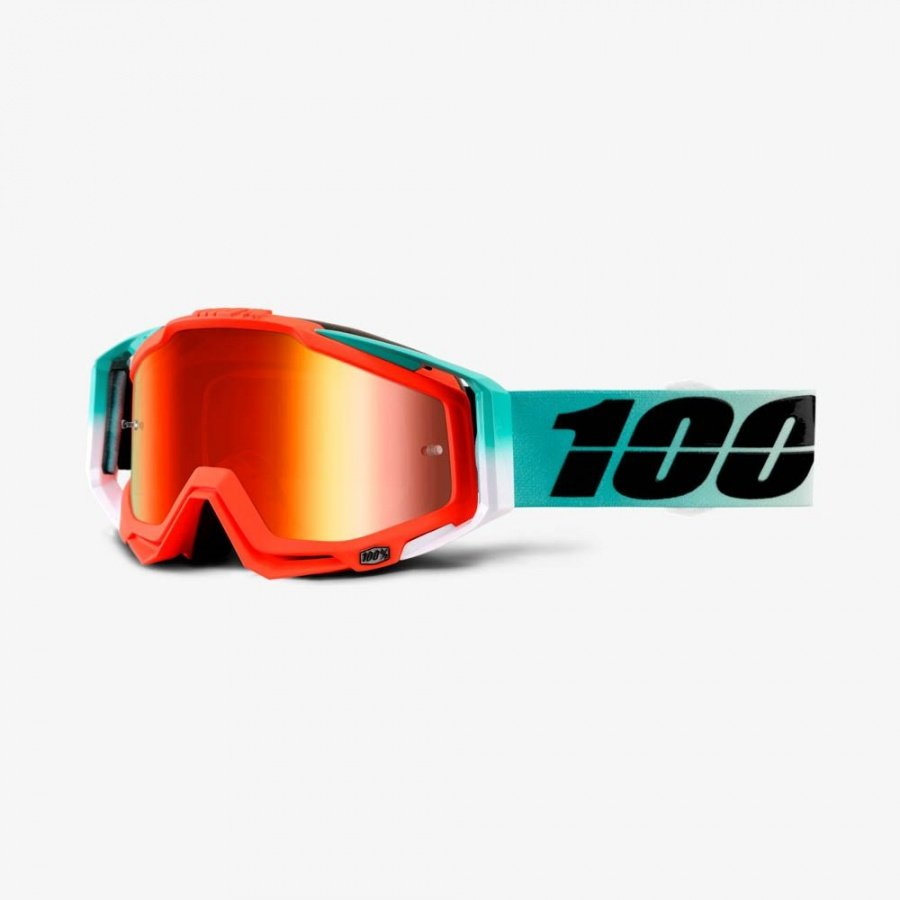 Велоочки 100% Racecraft Cubica /Mirror Red Lens, 50110-222-02