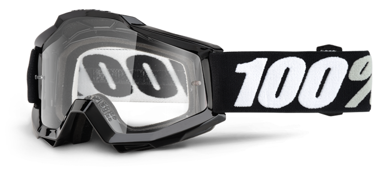 Велоочки 100% Accuri Tornado OTG / Clear Lens, 50204-059-02