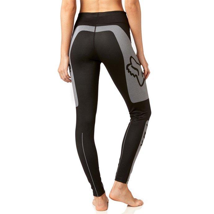 Леггинсы велосипедные женские Fox Moth Legging Heather, серый 2018 (Размер: M )