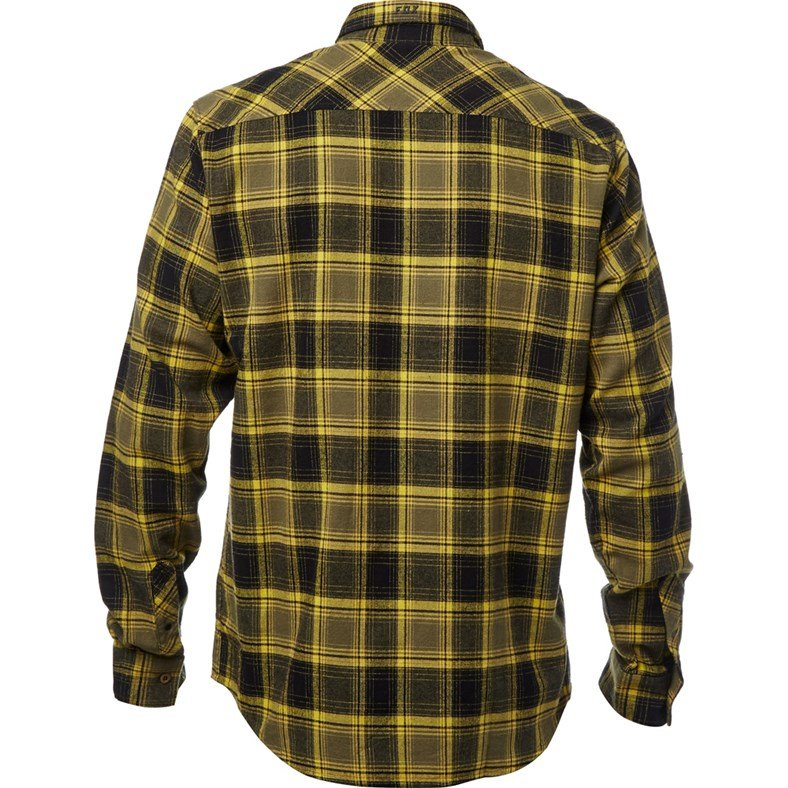 Велорубашка Fox Traildust Flannel Dark Fatigue 2018 (Размер: M)