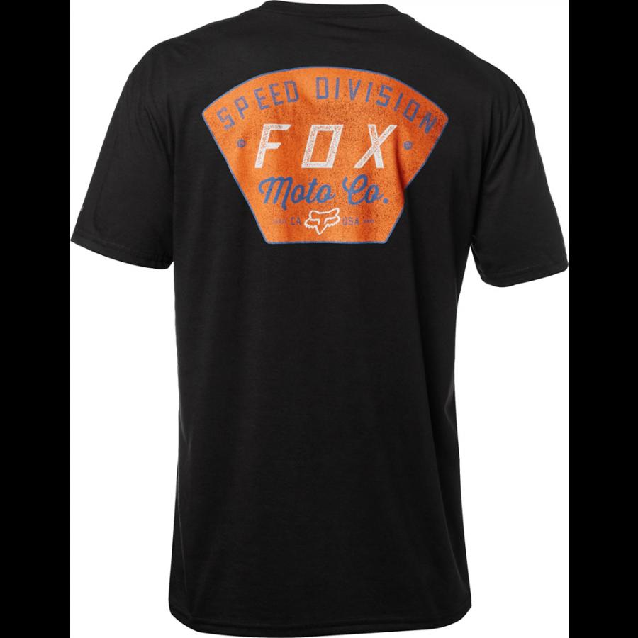 Велофутболка Fox Seek And Construct SS Tech Tee, черный 2018 (Размер: S )