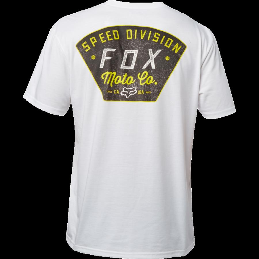 Велофутболка Fox Seek And Construct SS Tech Tee, белый 2018 (Размер: XL)