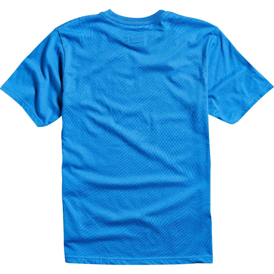 Велофутболка подростковая Fox Youth Legacy SS Tee, синий 2016 (Размер: YL )