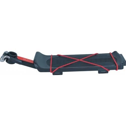 Багажник KW-618-10 консольный, алюминий/пластик, с экцентриком, с резинкой, макс.нагр.10кг