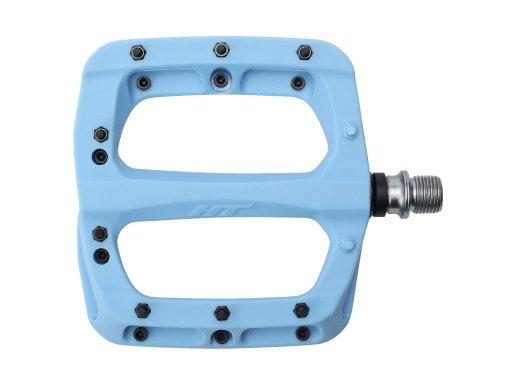 Педали велосипедные HT PA03A, голубой, PA01A006101