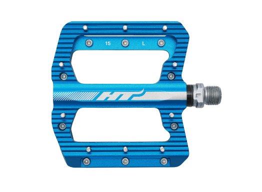 Педали велосипедные HT ANS01, синий, ANS01106101