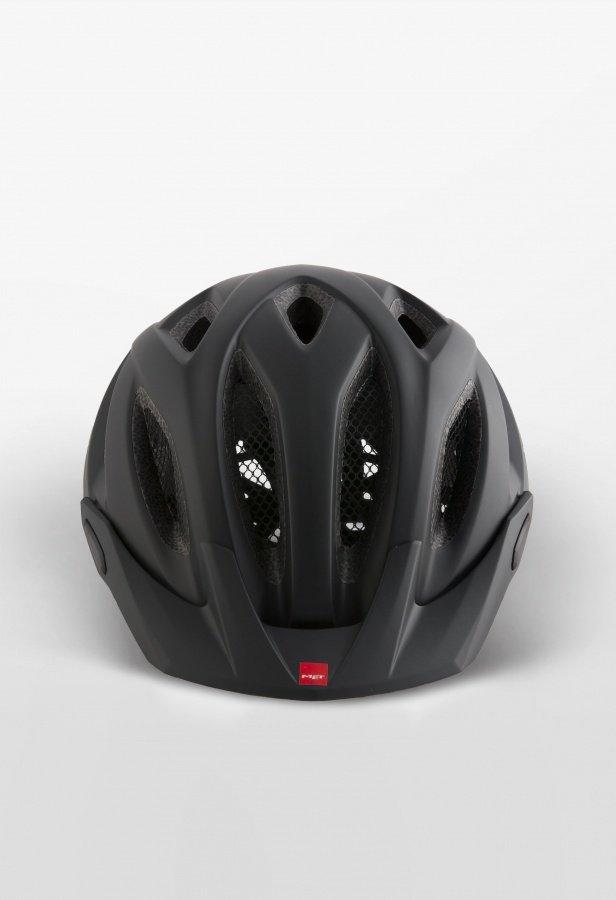 Велошлем Met Crossover, матовый черный 2018 (Размер: XL (60-64 см))