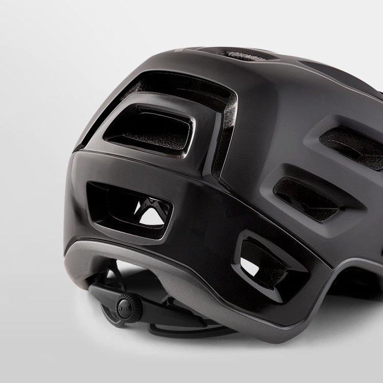 Велошлем Met Roam, черный 2018 (Размер: L (58-62 см) )