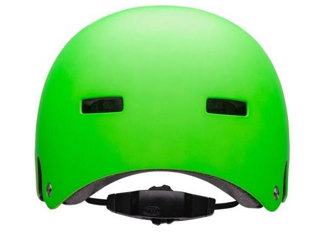 Шлем велосипедный Bell 18 LOCAL BMX, универсальный, зеленый (Размер: L)