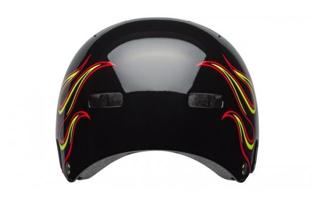 Шлем BMX детский Bell 18 BLOCK, глянцевый черное пламя  (Размер: XS)
